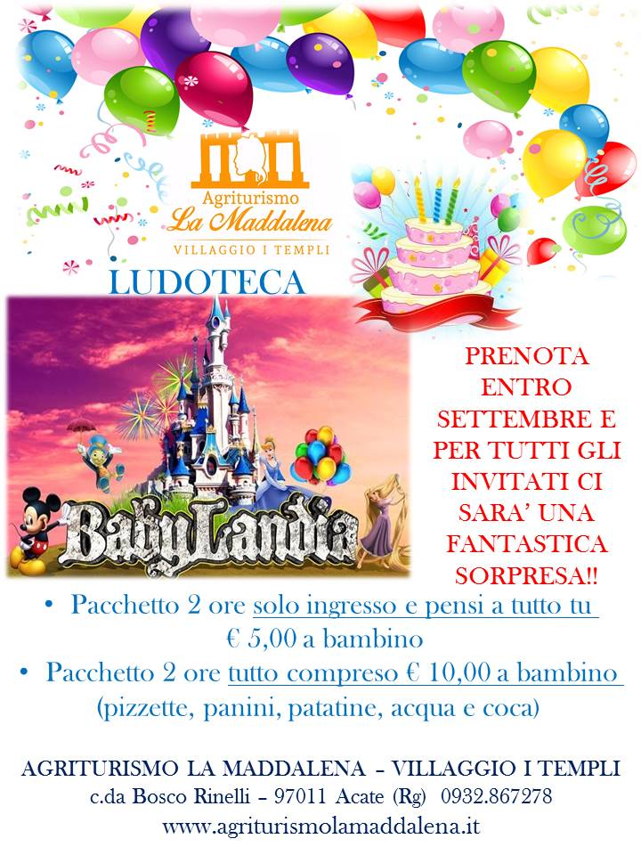Compleanno in Ludoteca