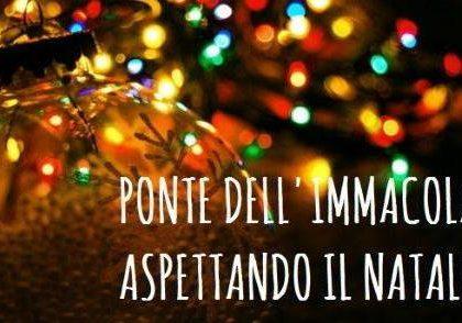 Festa dell'Immacolata.. aria di Natale!!!